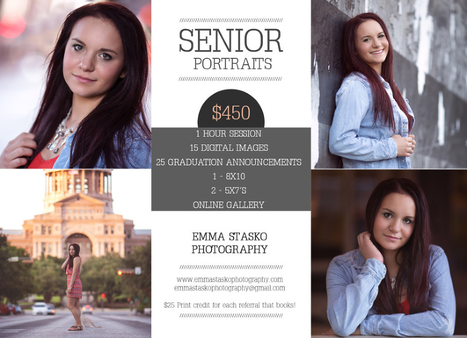 Austin Senior Photographer | Emma Stasko Photography